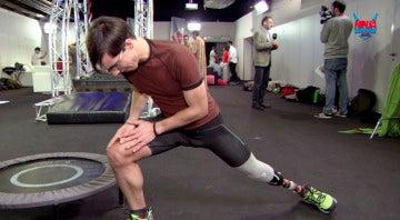 Dani Nafría, el joven que gana una batalla a la vida compitiendo con una sola pierna