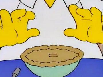 Una cuenta de Instagram con los mejores momentos comilones de Los Simpson.
