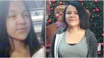Jolynn y Chantell, dos de las niñas que se suicidaron por un pacto en Canadá