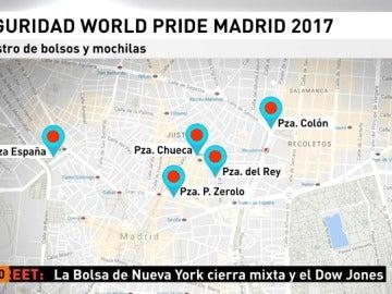 Madrid se blinda fiestas del orgullo