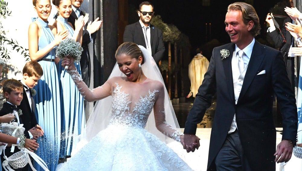El vestido de novia mas brillante