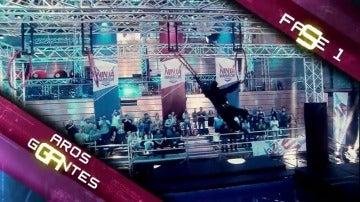 Los obstáculos a los que los concursantes tendrán que enfrentarse en el tercer programa de 'Ninja Warrior'
