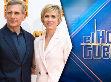 Steve Carell y Kristen Wiig vendrán el jueves desde Hollywood a divertirse a 'El Hormiguero 3.0'