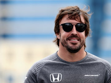 Fernando Alonso, en Bakú