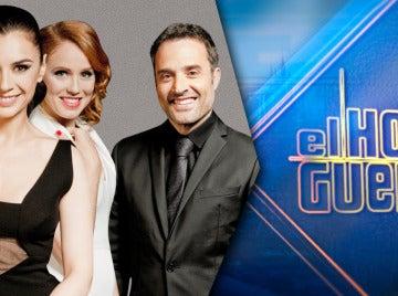 Daniel Guzmán, Miren Ibarguren y María Castro