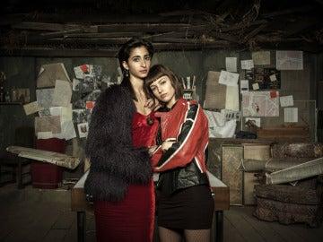 Alba Flores y Úrsula Corberó son Nairobi y Tokio en 'La casa de papel'