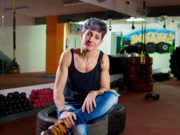 Sara Hernández, toda una luchadora que trabaja y vive en un gimnasioSara Hernández, toda una luchadora que trabaja y vive en un gimnasio
