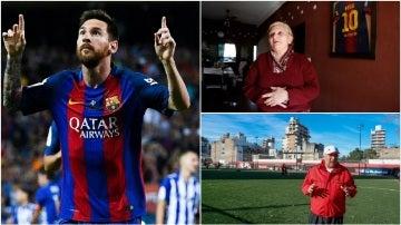 Los vecinos de Messi en Rosario recuerdan sus comienzos