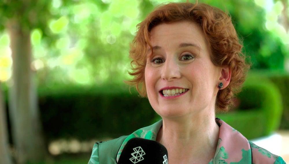 "Mari Paz Sayago: ""Dolores va a sembrar cosas bonitas para la cuarta temporada"""