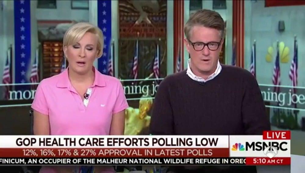 Los presentadores contra los que va Trump