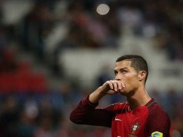 Cristiano Ronaldo en la Copa Confederaciones