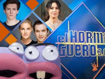 Ricardo Gómez y Amaia Salamanca, Monica Bellucci y Tom Holland cierran la undécima temporada de 'El Hormiguero 3.0'