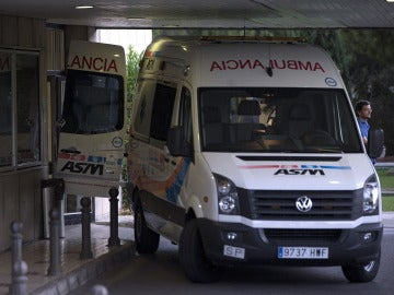 Una ambulancia en Málaga