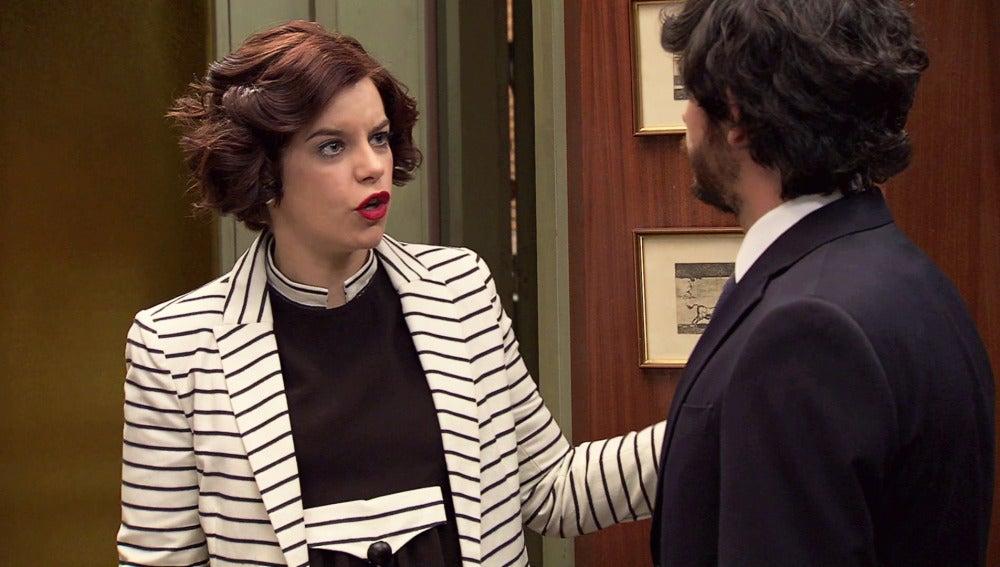 """Marta enfurece contra Jaime: """"Te importa más el asesino de mi marido que tu propia hermana"""""""