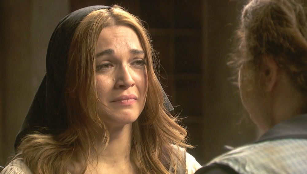 El dolor se podera de Julieta al recordar su pasado