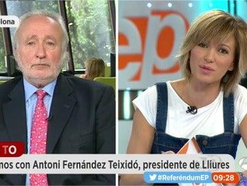 Antoni Fernández Teixidó, en Espejo Público