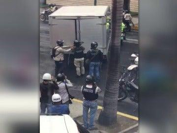 Al menos 20 detenidos en Caracas tras protesta opositora que fue dispersada