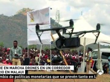 Dron en Malaui