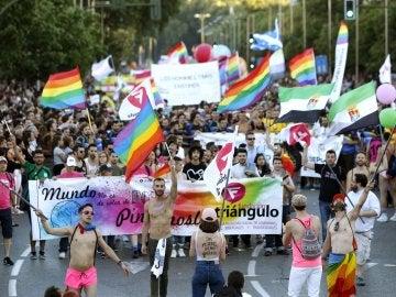 Manifestación del Orgullo Gay en Madrid