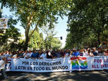 Inicio de la mayor marcha del Orgullo Gay 2017 en el mundo