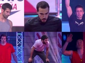 Finalistas del cuarto programa de 'Ninja Warrior'