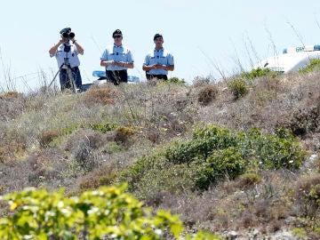 Imagen de archivo de varios policias portugueses