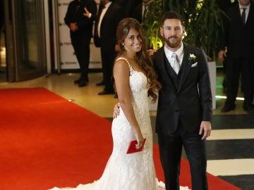 Messi se casa con Antonella Roccuzzo