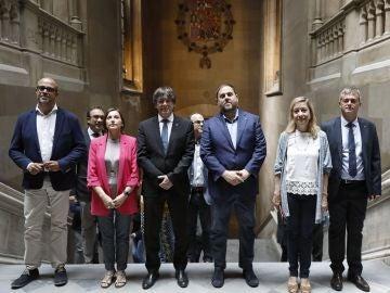 Apoyo de los alcaldes catalanes a la consulta de Puigdemont