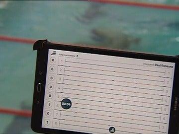 Dispositivo para minimizar el peligro de ahogamiento en las piscinas