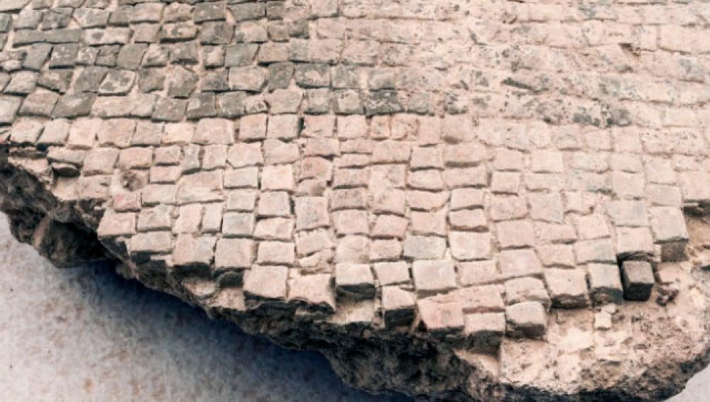Restos hallados en Roma