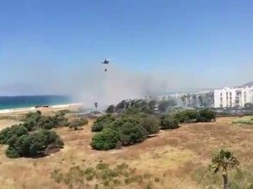 Desalojados varios apartahoteles en Tarifa