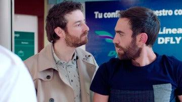 Tras querer comprar un avión, Iñaki y Horacio parten rumbo al sur