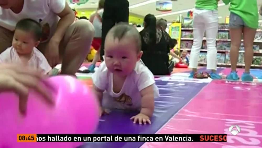 Carreras de bebés en China