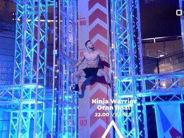 Vive la gran final de 'Ninja Warrior' el próximo viernes en Antena 3