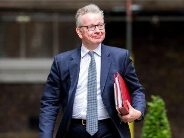 El ministro de Medio Ambiente de Reino Unido, Michael Gove