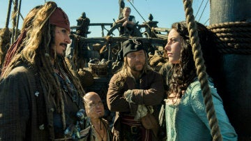 Fotograma de 'Piratas del Caribe: La venganza de Salazar'