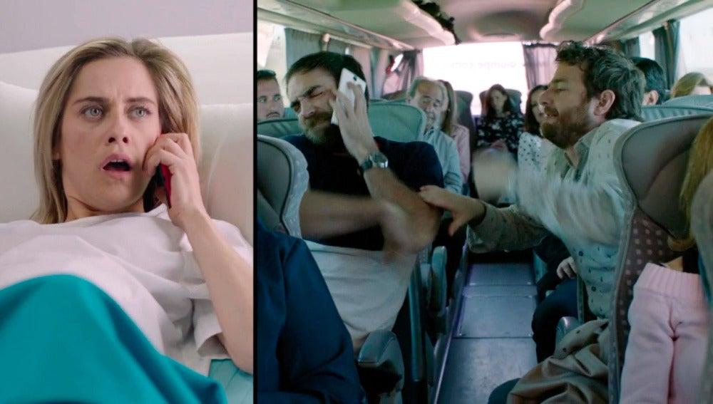 """Carmen no da crédito al hablar con Iñaki: """"¿Venís en autobús?"""""""