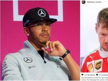Hamilton da 'me gusta' a una censura a la FIA