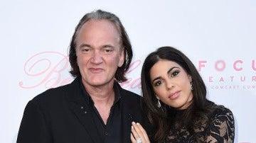 Quentin Tarantino y Daniela Pick