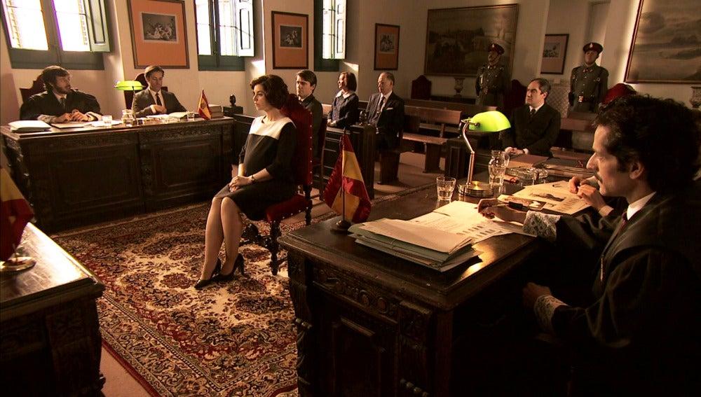 Marta Novoa, intimidada con las preguntas de Jaime en el juicio de Maroto
