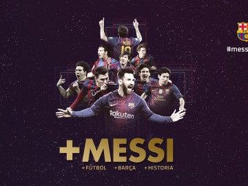 Leo Messi seguirá en el Barcelona hasta 2021