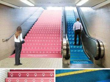 Campaña desigualdad en el Metro de Nueva York