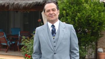 El actor Santiago Meléndez