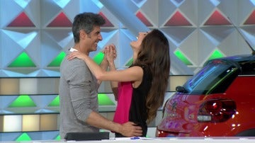 Jorge y Laura se atreven con la bachata
