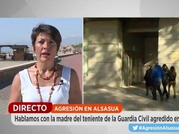 """La madre del Guardia Civil agredido en Alsasua: """"Su traslado no es una derrota"""""""