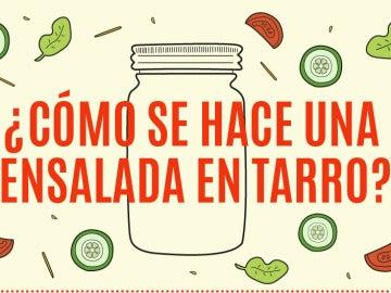 Ensalada en Tarro