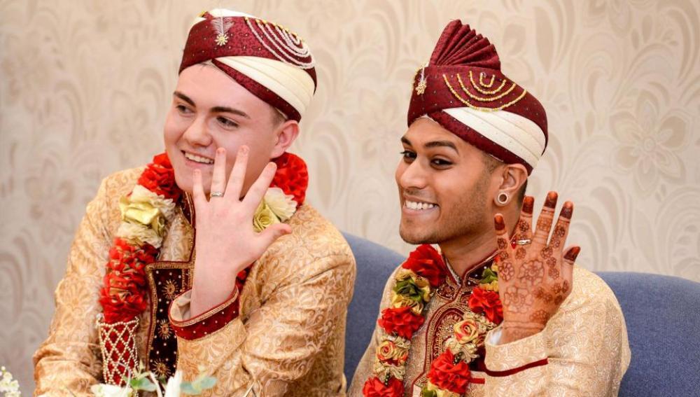 Sean Rogan, de 19 años y Jahed Choudhury, de 24 años