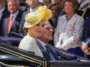 La reina Letizia en Londres