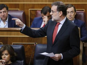 Mariano Rajoy en el Congreso, imagen de archivo