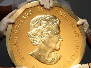 La moneda de oro robada